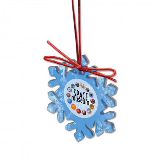 Custom Shape Acrylic Christmas Ornaments with Your Logo