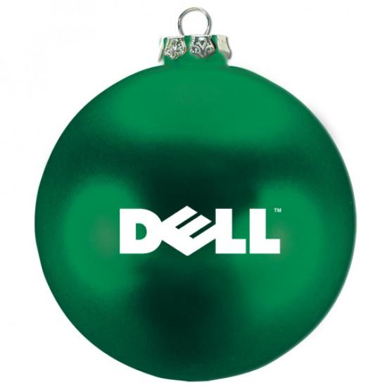 """Custom Logo - 3-3/4"""" - Ellipsoid Tablet Ornament"""